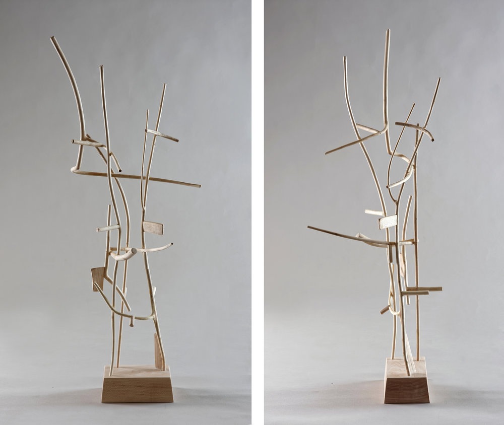 Scaffold , 26 inches, maple, 2016