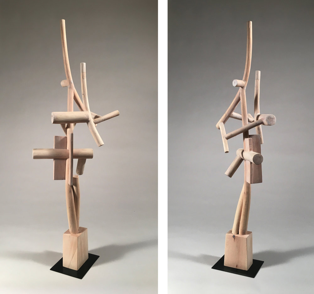 Two Seasons,  31 inches, maple, 2017-18