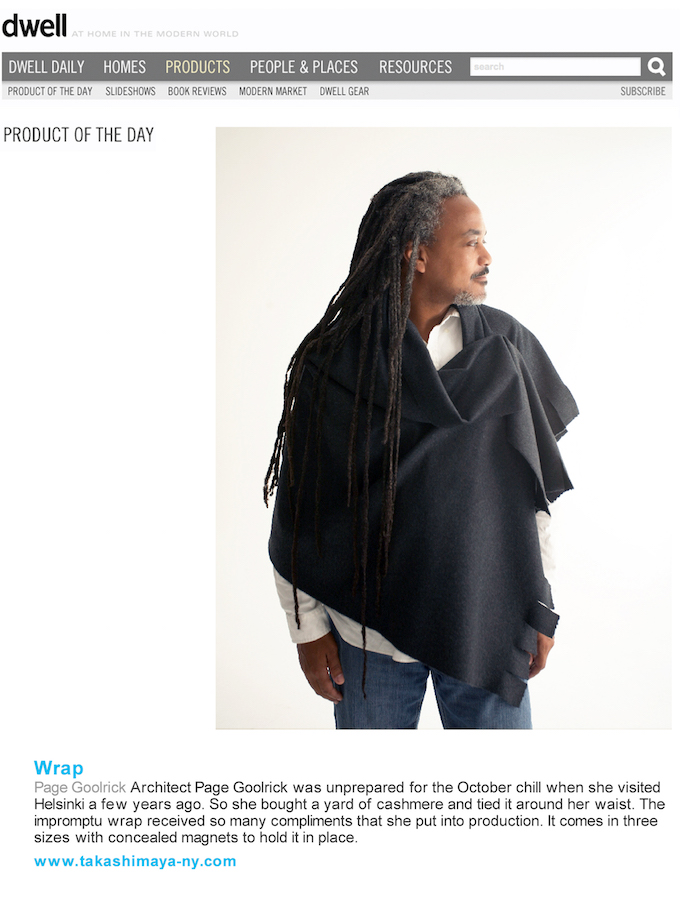<html>Dwell<p>Product of The Day - Wrap</html>