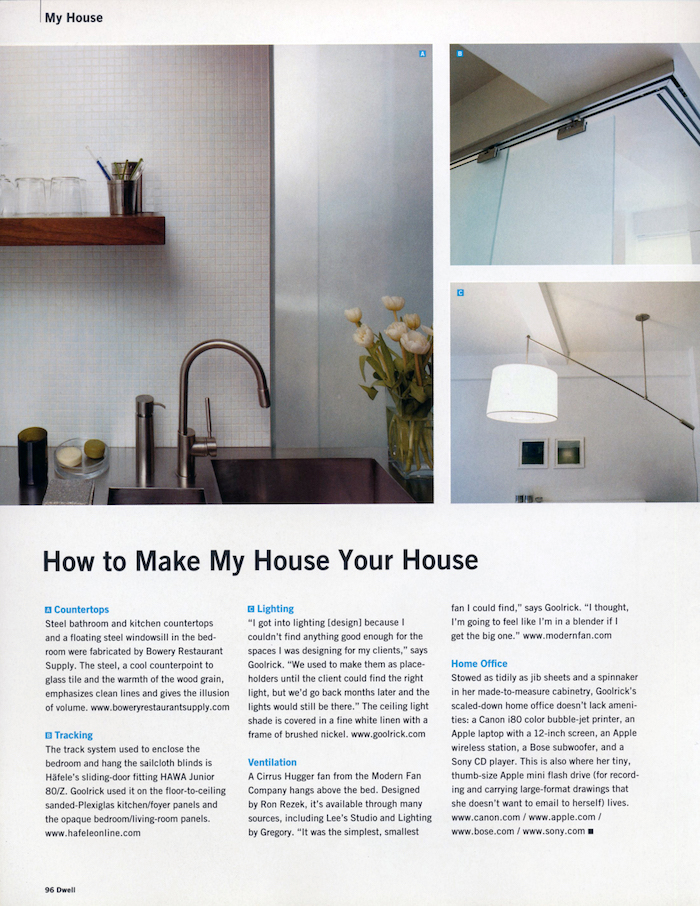<html>Dwell<p>How To Make My House Your House</html>