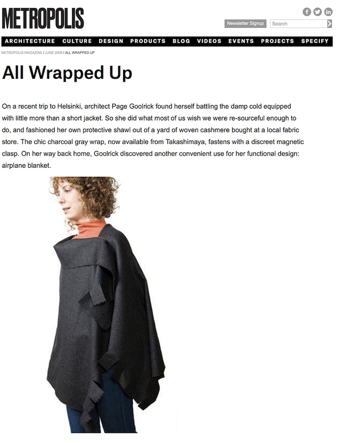 <html>Metropolis<p>All Wrapped Up</html>