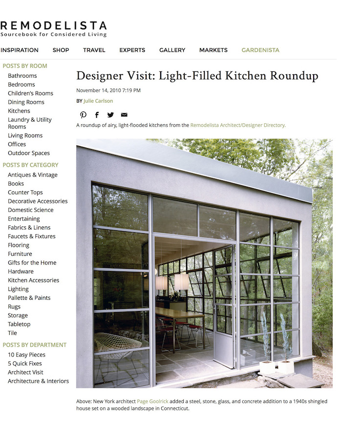 <html>Remodelista<p>Light Filled Kitchen</html>