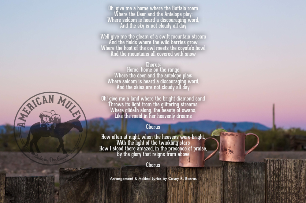 Home On The Range Lyrics by American Mule