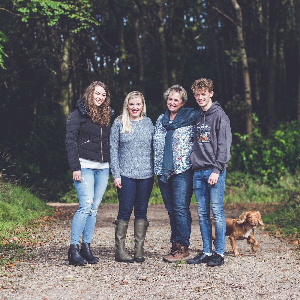Briant Family    Otterhead Lakes, Somerset