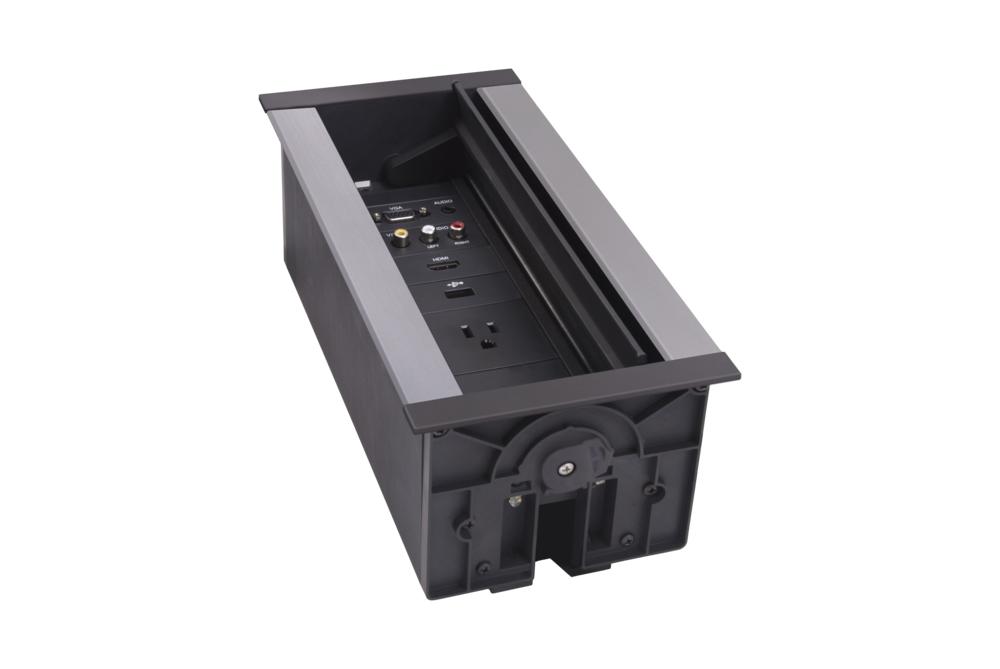 AMX 9-Module Hydraport  - In Table AV Box - Customisable