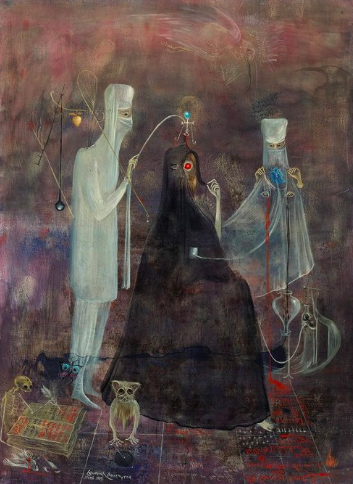 Leonora Carrington,  Operation Wednesday , 1969.