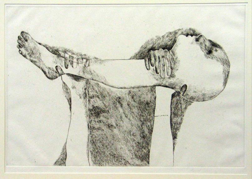 Marisol Escobar,  Death of Head and Leg , 1969.