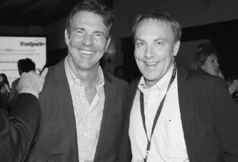 Winston Baker co-hosted the TrueSpark launch party in Los Angeles on June 24, 2014 with David Tice and special guest, Dennis Quaid.
