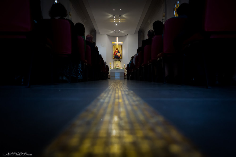 gold tiles at the MSSP Oratory Church, Birkirkara
