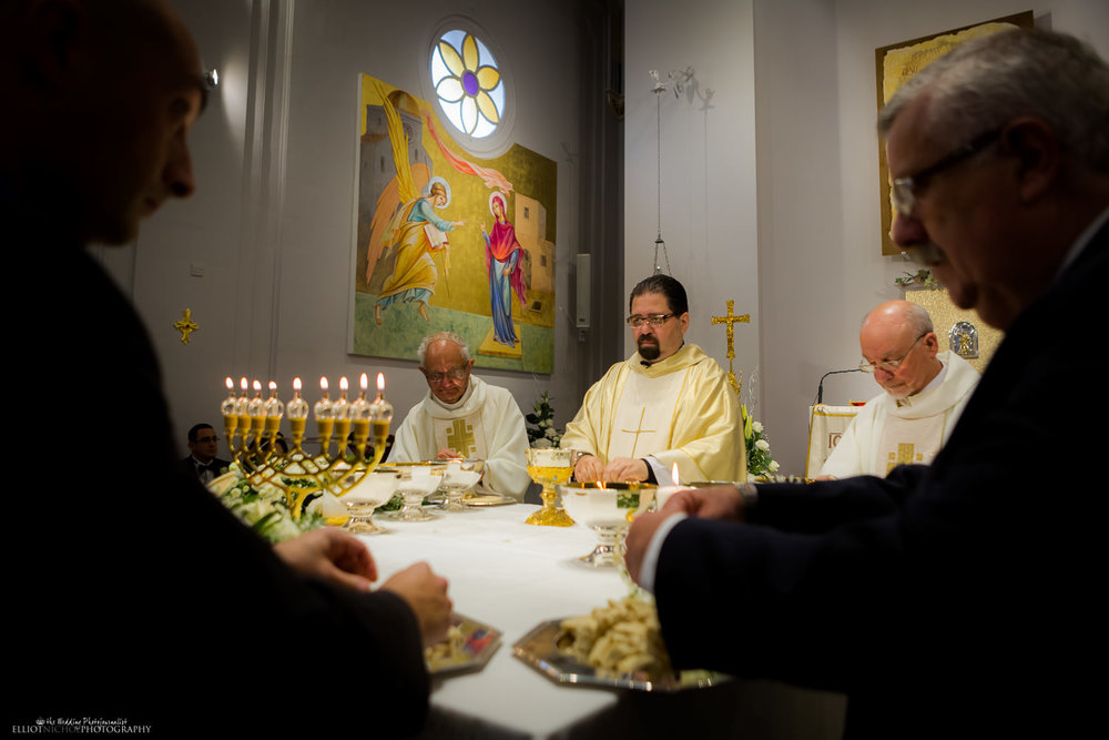 wedding ceremony catholic priest malta