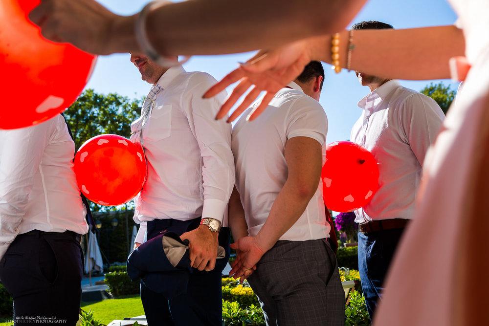 Chinese wedding door games in Malta
