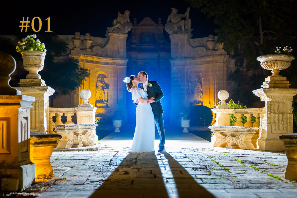 Most popular wedding venue in Malta - Villa Bologna, Attard, Malta