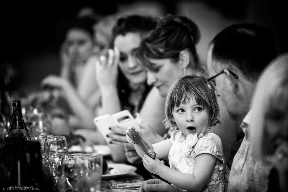 Destination wedding to Taormina, Sicily, having their wedding reception meal.