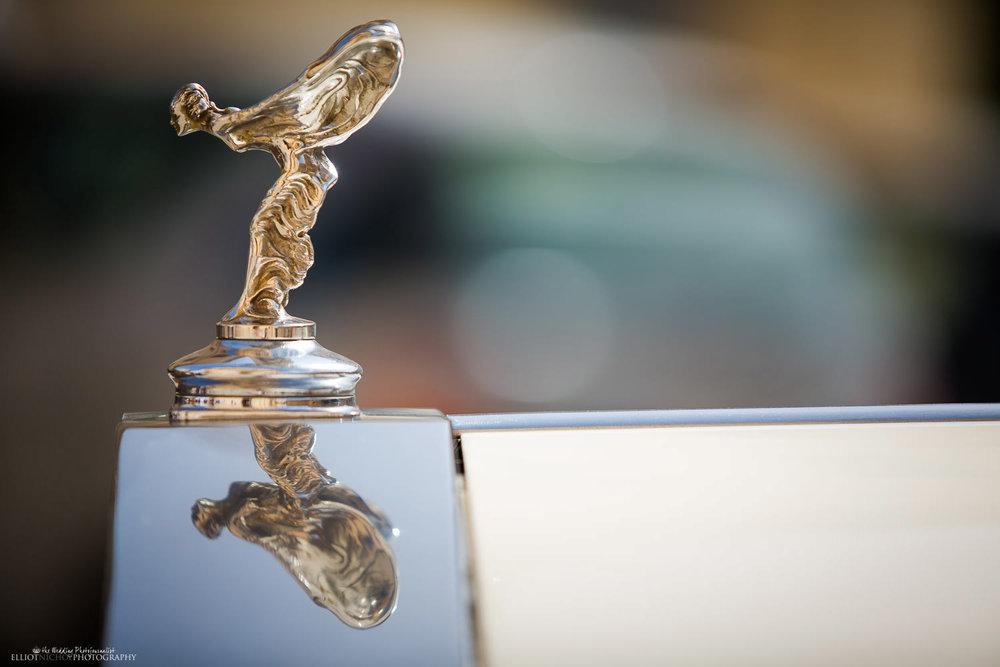 Wedding car in Malta - vintage Rolls Royce