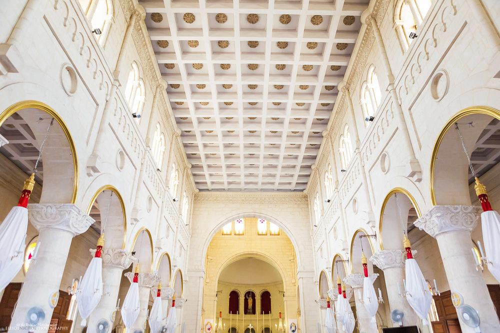 Interior of St Peter's Parish Church, Birzebbuga, Malta
