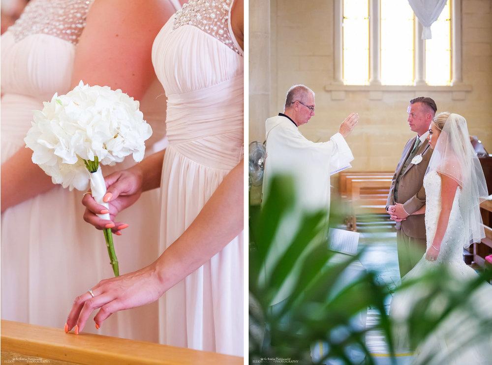 Wedding ceremony in St Peters Parish Church in Birzebbuga, Malta