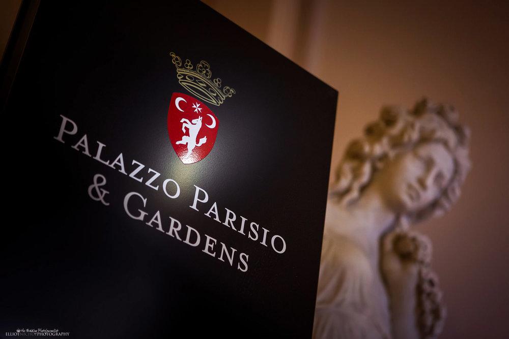 wedding venue the Palazzo Parisio, Naxxar, Malta.