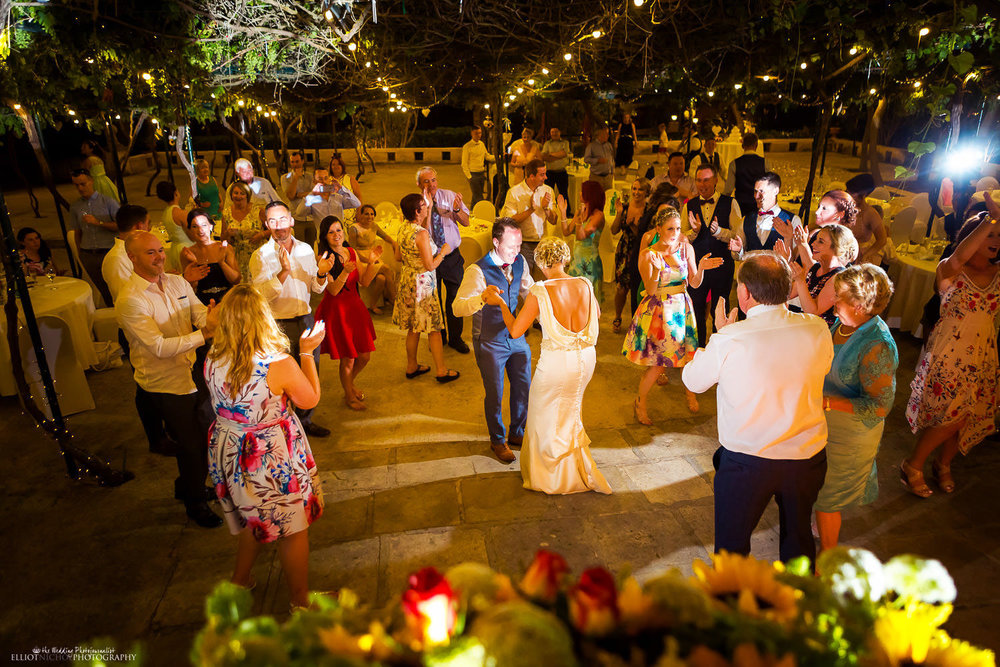 wedding reception venue Ir-Razzett L-Abjad in San Gwann, Malta. Photographer Elliot Nichol