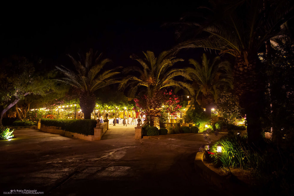 View of the wedding venue Ir Razzett L-Abjad in San Gwann, Malta