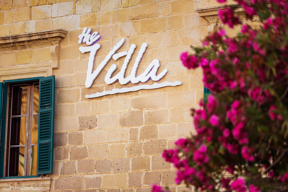 The Villa Brasserie, Balluta Bay, St Julians, Malta