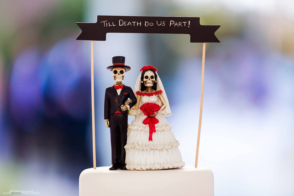 Wedding ceremony till death do us part