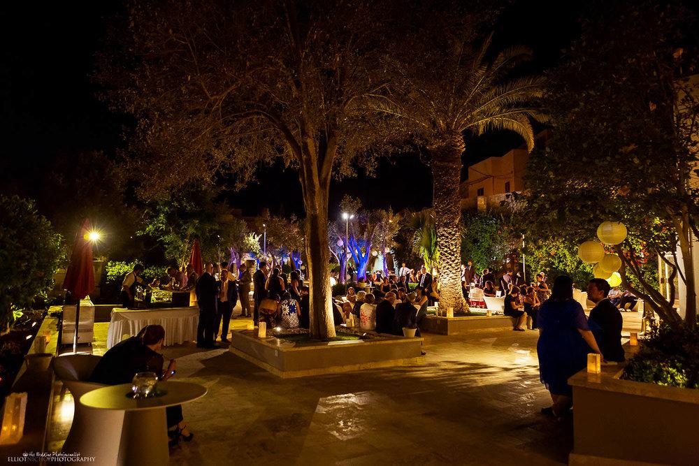 Villa Mdina wedding reception in Naxxar, Malta