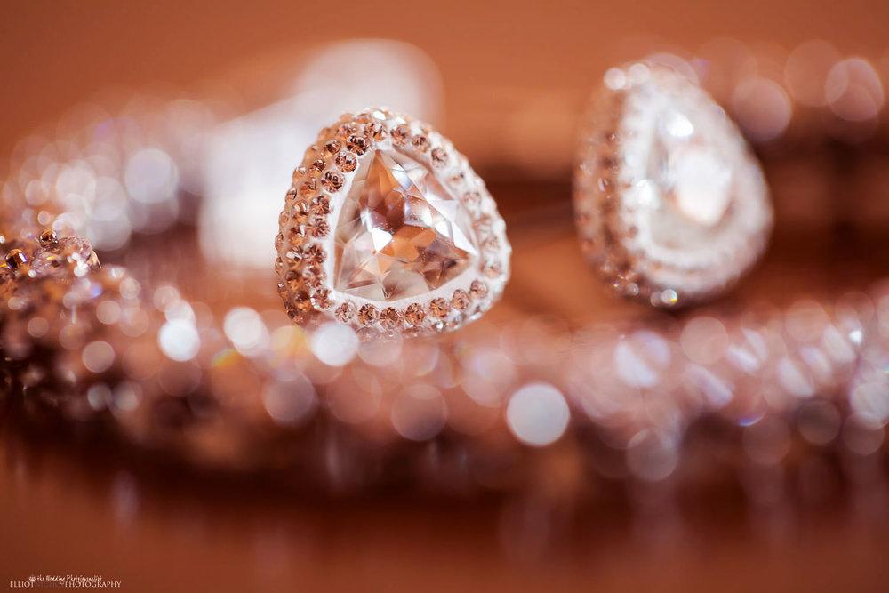 Brides wedding day jewellery