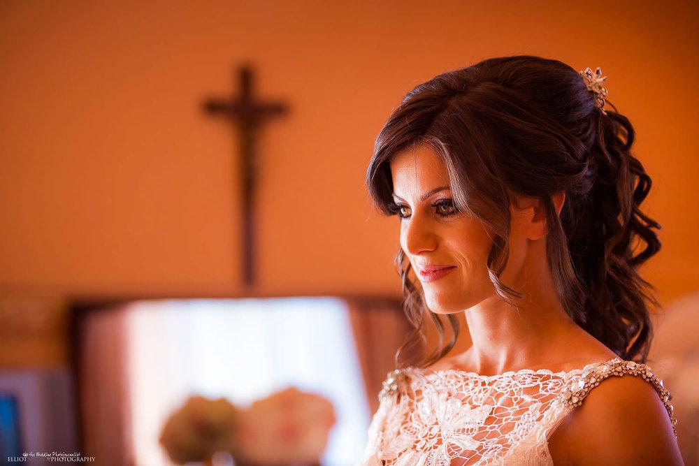 Bride on her wedding day. Malta wedding photography