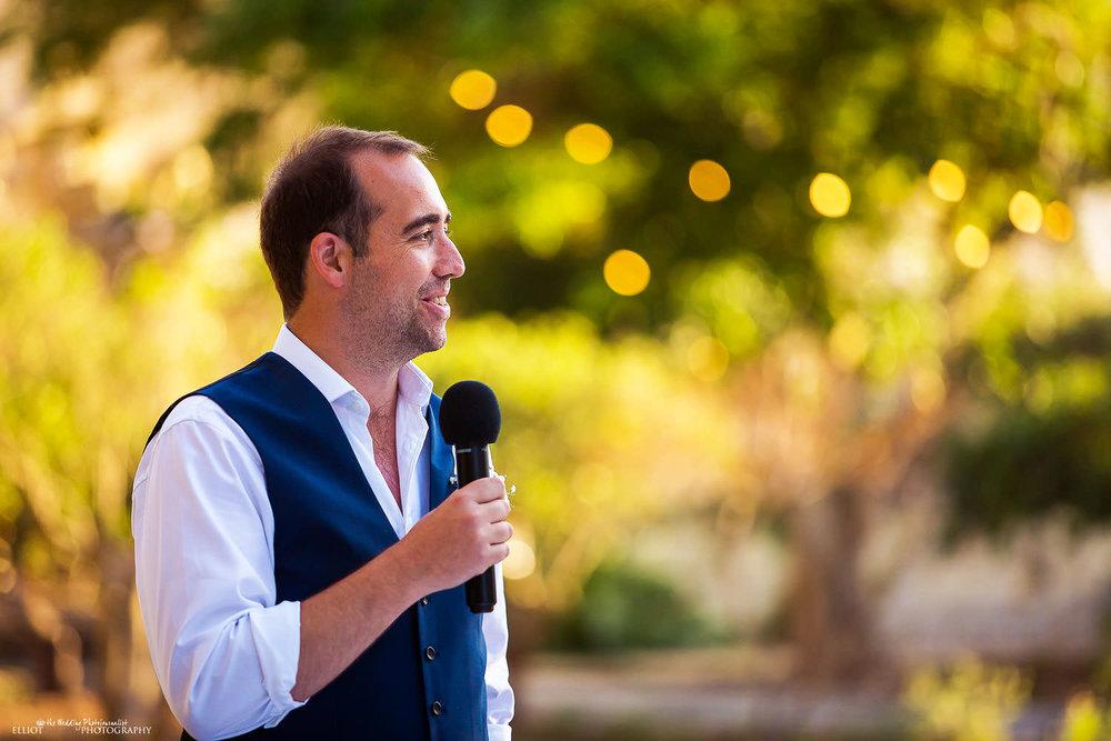 Bestman speech at Villa Bologna