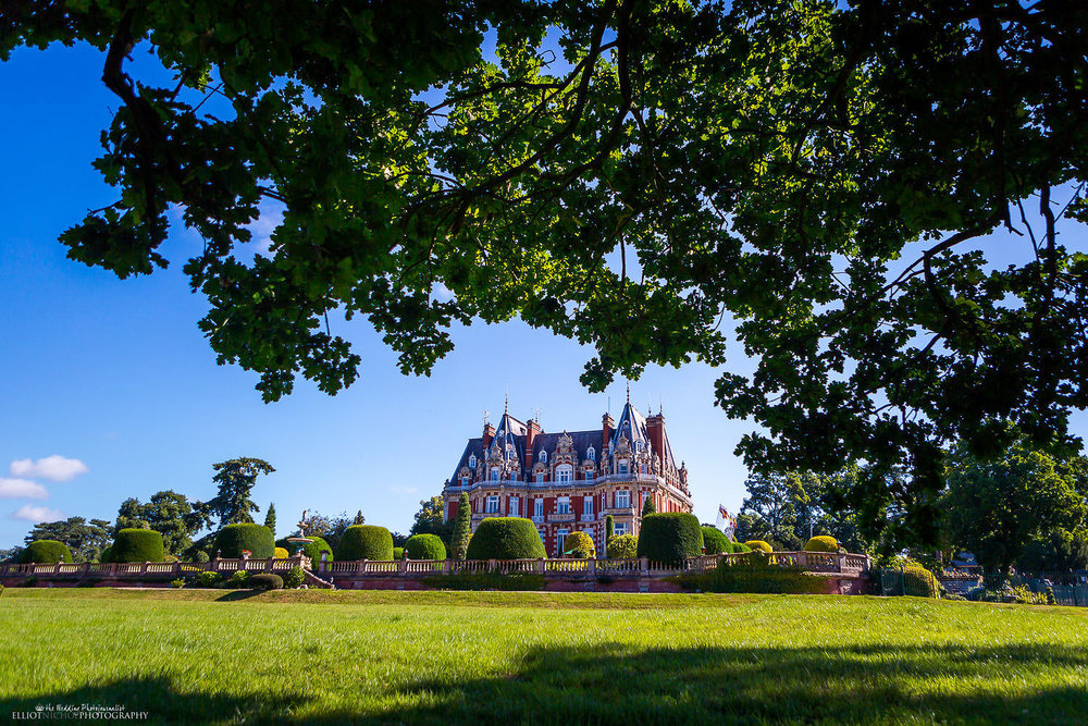 Wedding venue Chateau Impney at Droitwich Spa, West Midlands, Worcestershire.