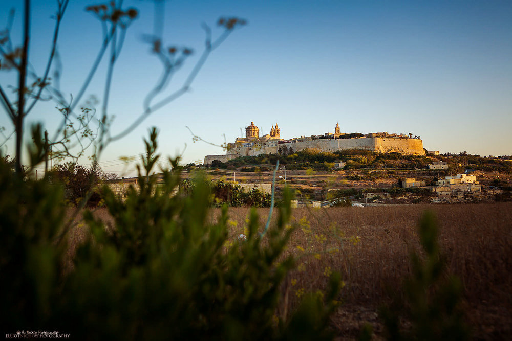 View of the slient city, Mdina, Malta
