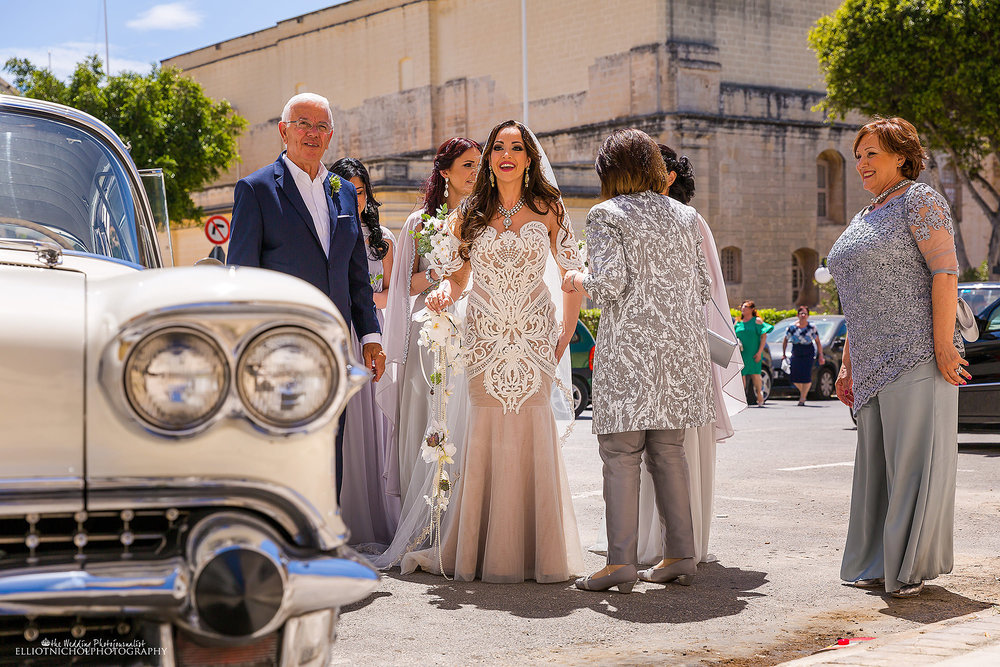Bridal-party-church-cadillac-Malta