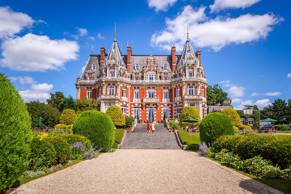 North West Wedding Venue Chateau Impney. Award winning Wedding Photography.