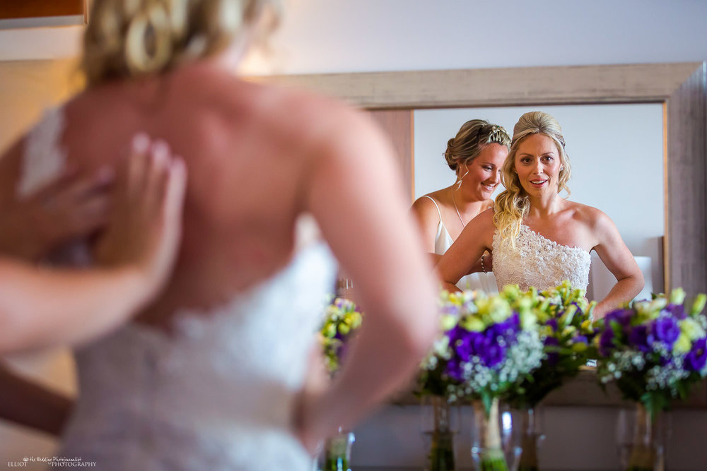 bride-wedding-dress-bridesmaid-weddings-photography-North-East-UK-wedding-photographer