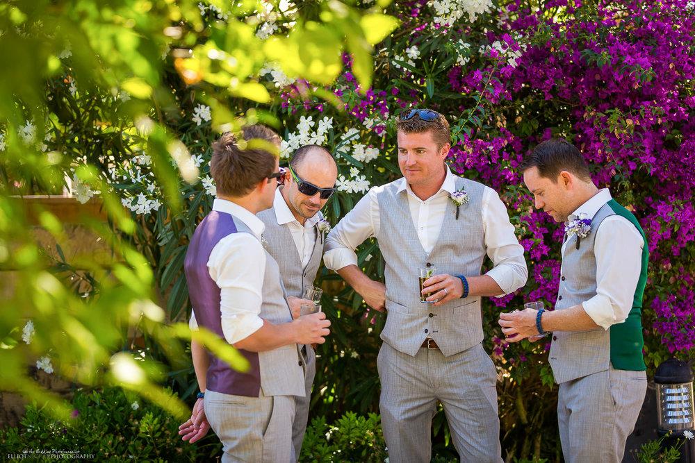 groom-groomsmen-wedding-drink-photographer-destination-Malta