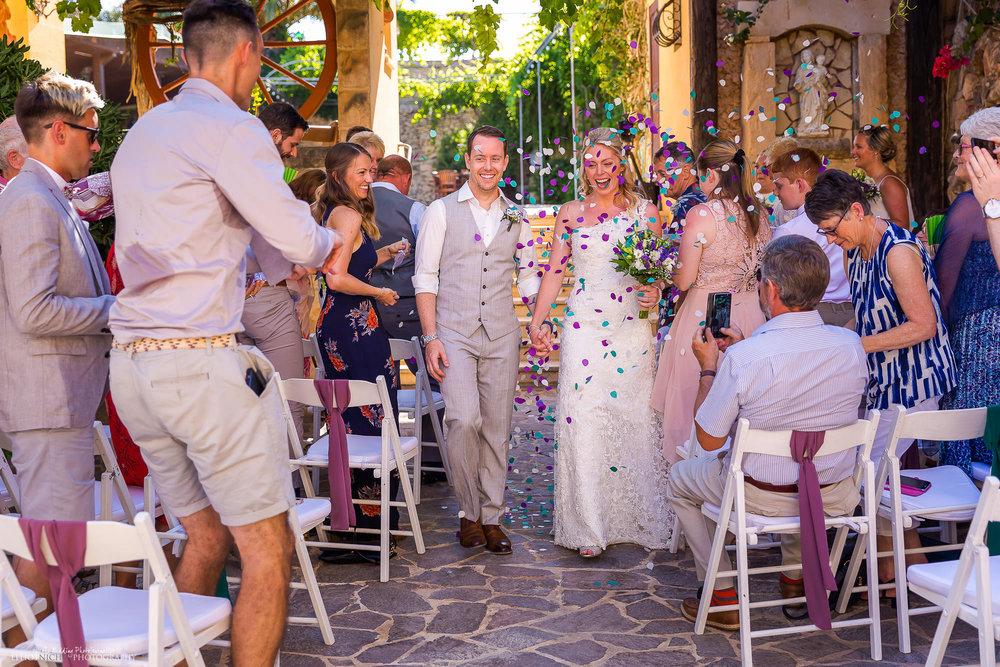 Newlyweds-ceremony-wedding-confetti-photography-venue-Malta