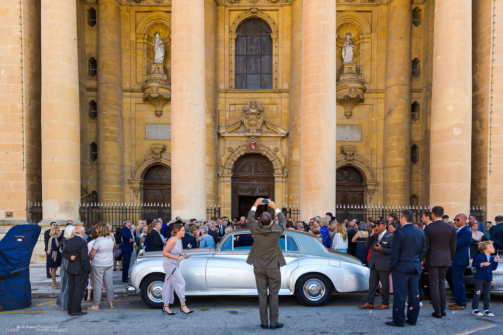 church-Valletta-Malta-wedding-vintage-car-photography