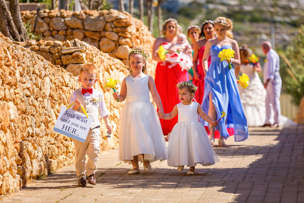 wedding-procession-destination-Seabank-Malta