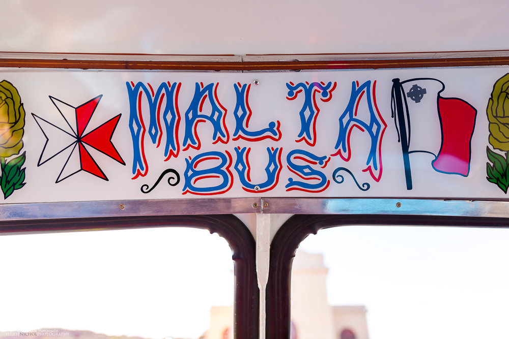 Malta-bus-vintage-sign-Maltese-buses-wedding
