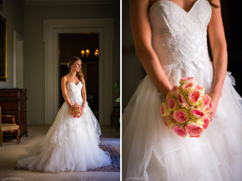 wedding-bride-dress-bouquet-North-East-wedding-photography