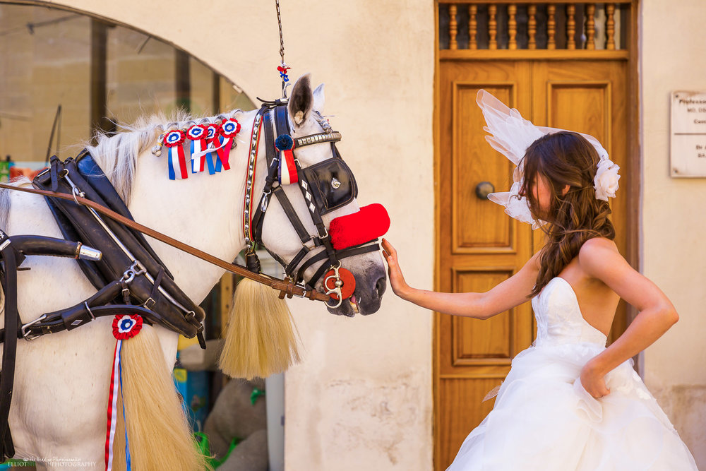 bride-wedding-horse-Malta-destination-wedding