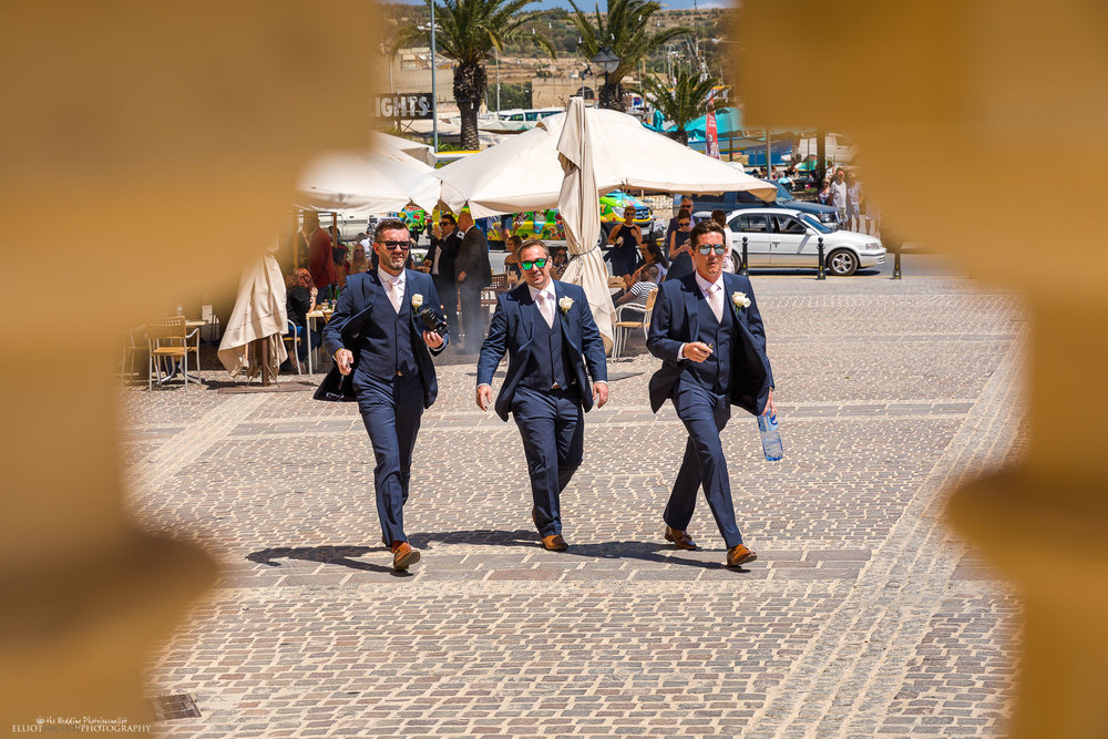 groomsmen-wedding-day-church-arrival-photography
