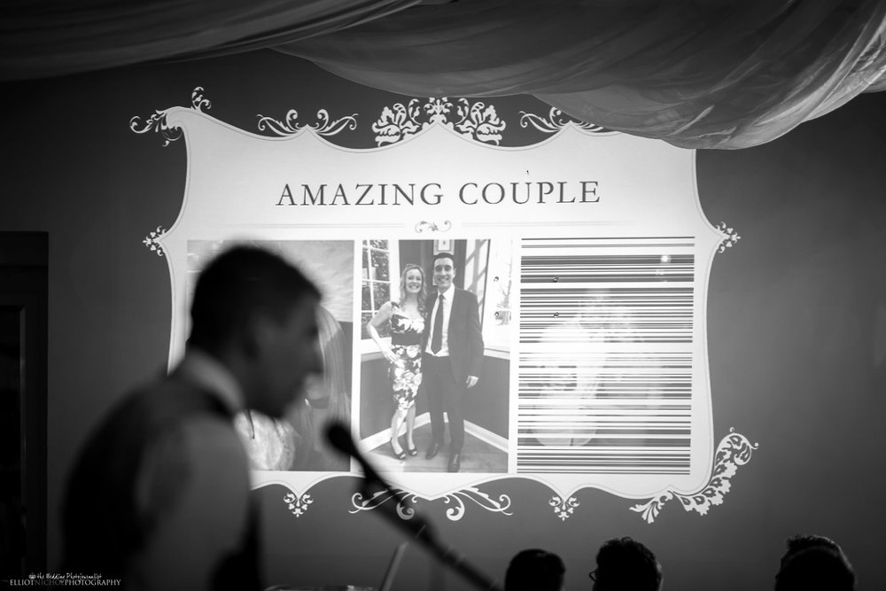 Best mans speech about the bride and groom - and amazing couple. Photo by Elliot Nichol Photography.