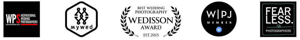 Photography associated groups with North East award winning wedding photographer based in Newcastle Upon Tyne covering weddings throughout the UK.