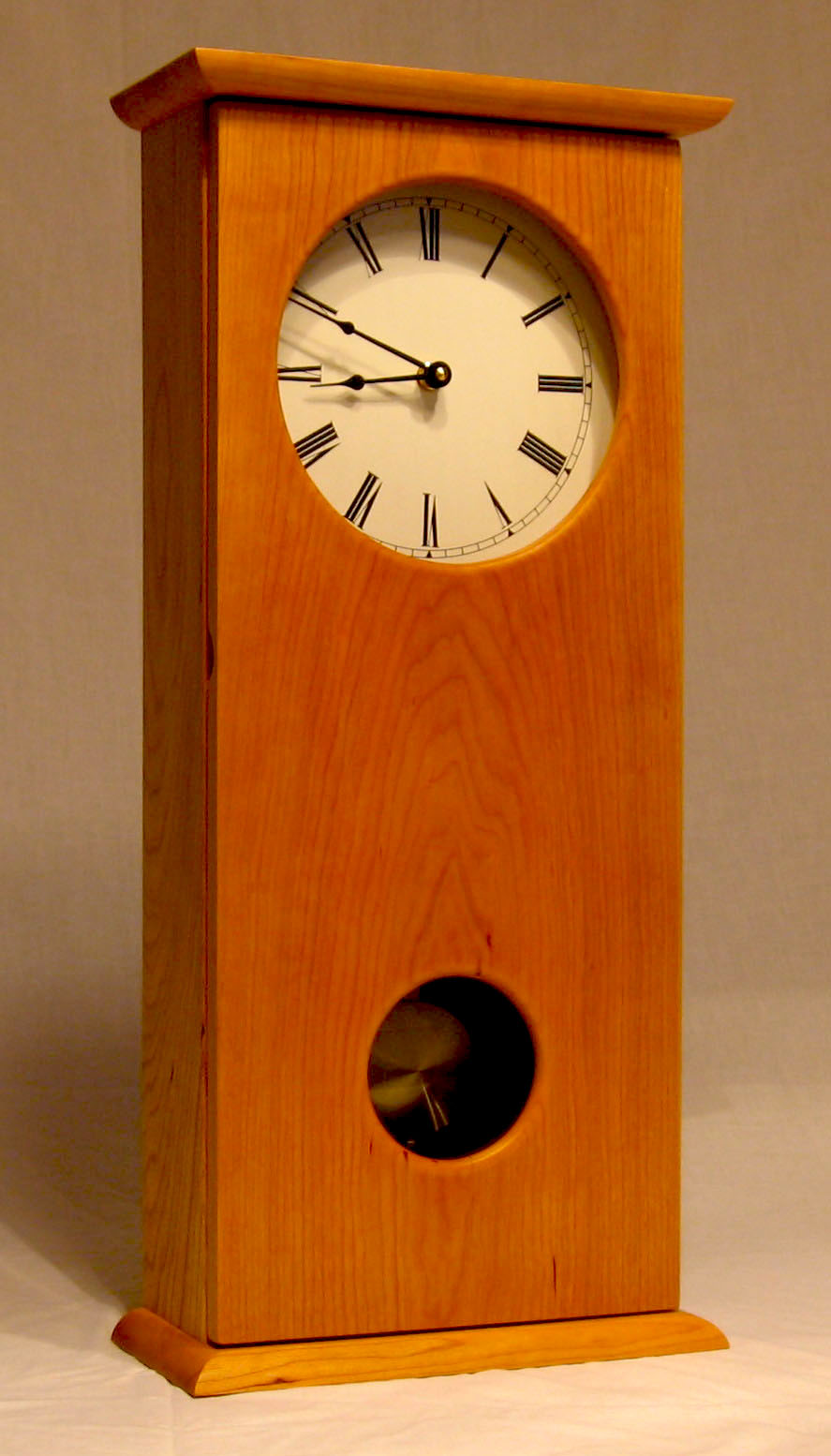 Custom Woodworking Frank Vellone : WallClock20002a from frankvellone.com size 887 x 1554 jpeg 151kB