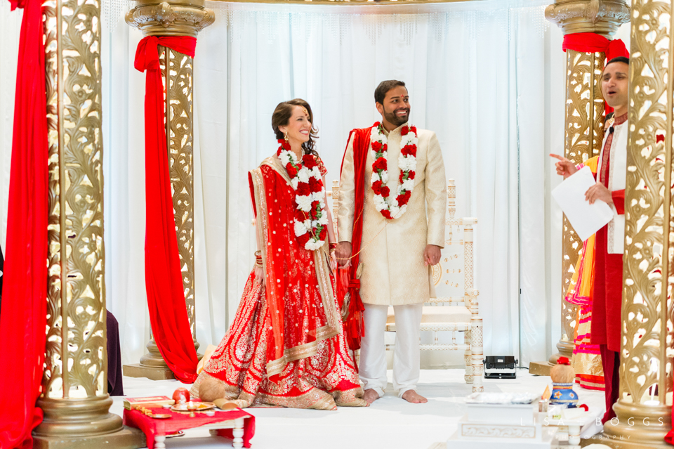 Tiffany and Vishal's Colorful Indian Fusion Wedding at the Mayfl