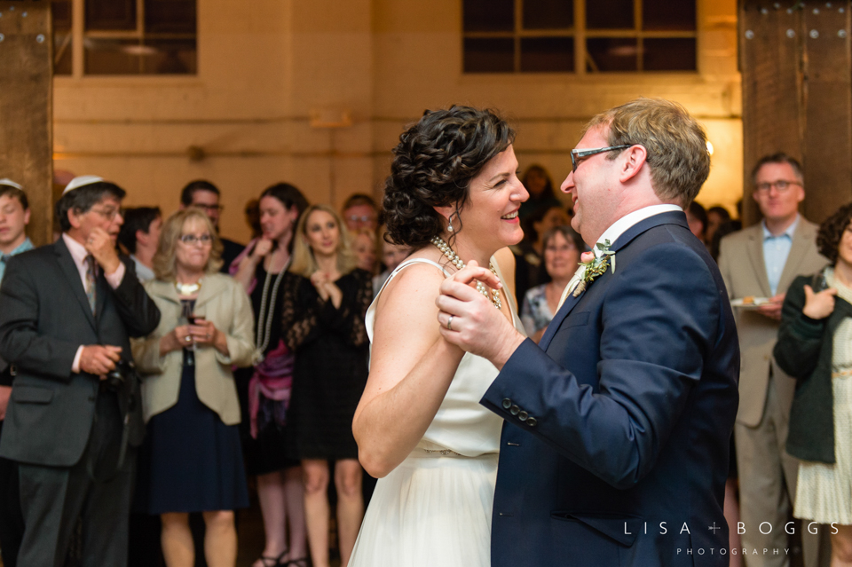 Debra & Ben's Mess Hall Washington, DC Wedding