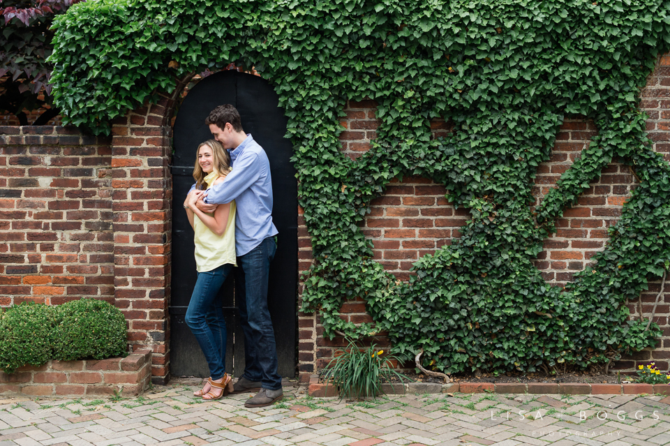 Nicole and Dave's Old Town Alexandria Engagements