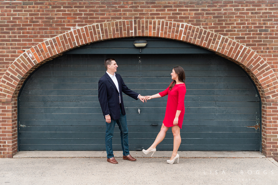 Allie & Connor Old Town Alexandria VA Engagements