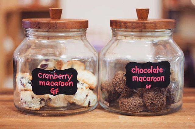 Gluten free handmade macaroons 😋